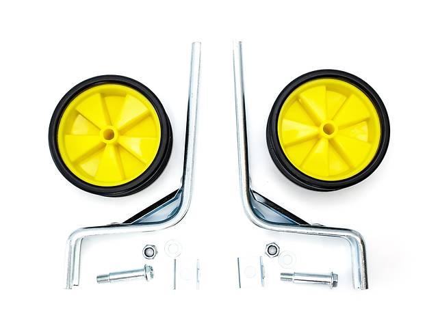 Опорні (тренувальні) колеса посилені FSK-BH-214 для дит. вів. 12& quot; -20& quot; жовті з чорним (жовтий з чорним)- объявление о продаже  в Києві
