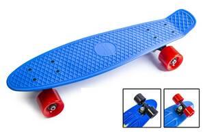 Penny Board Синій колір Матові колеса