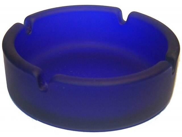 продам Пепельница стеклянная Bergamo синий бу в Киеве