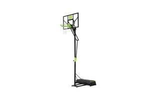 Передвижной баскетбольный щит Polestar EXIT green/blackна колёсиках