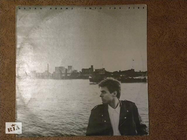 """Пластинка Bryan Adams """"Into the fire"""".- объявление о продаже  в Одессе"""