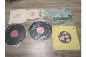 Пластинки разных размеров 7 шт. Мелодия, 10 грн. за все
