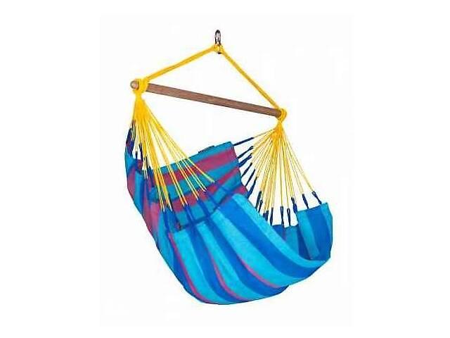 продам Подвесной стул-гамак La Siesta Sonrisaкрасно-синий, из HamaTex, нагрузка до 130 кг.SNC14-3 бу в Киеве