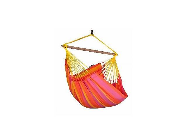 продам Подвесной стул-гамак La Siesta Sonrisaжелто-красный, из HamaTex, нагрузка до 130 кг.SNC14-5 бу в Киеве