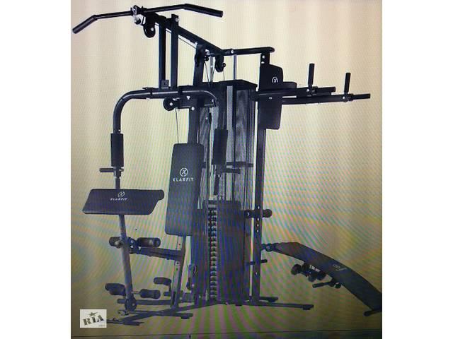 Продам Многофункциональная фитнес-станция Klarfit.  Б/У Состояние нового- объявление о продаже  в Луцке