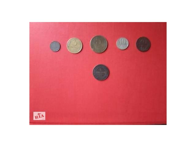купить бу Продам монеты СССР, 1952-1961гг, 1;3;5;10;20 коп. в Мукачево