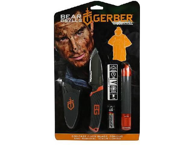 продам Promo Ліхтар+Нож+пончо Gerber Bear Grylls блістер Grbr31-002493 бу в Киеве