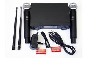 Радиосистема Shure UGX66 база 2 радиомикрофона
