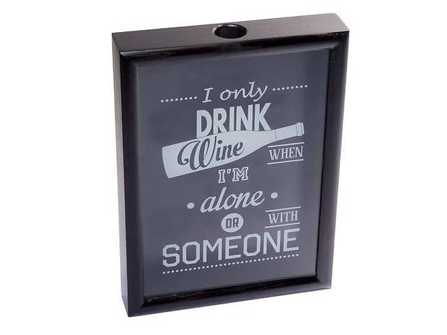 Рамка для винных пробок BST 250003 38х28х5,5 см. черная I only...- объявление о продаже  в Киеве