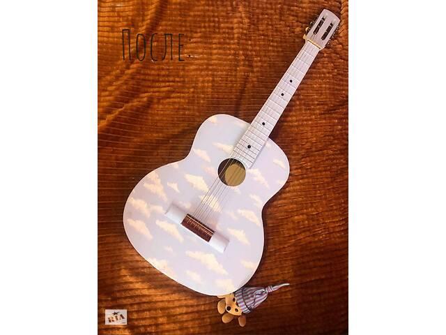 Раскраска/роспись гитар- объявление о продаже  в Николаеве