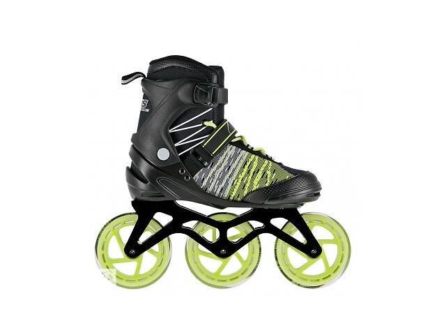 бу Роликовые коньки Nils Extreme черно-зеленые Size 40 NA1206 SKL41-227576 в Киеве