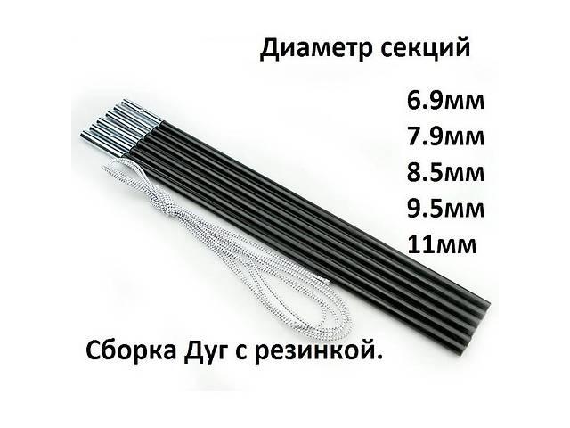 продам Секции-дуги 9.5мм для туристических палаток бу в Харькове