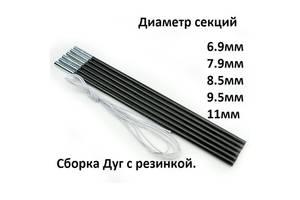 Секции-Дуги для палатки диаметр 6.9-7.9-8.5-9.5-11мм