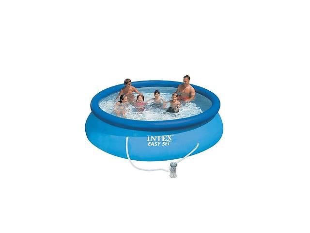 бу Семейный надувной бассейн Intex 28132, 366 х 76 см (2 006 л/ч) Код товара: 28132 в Одессе