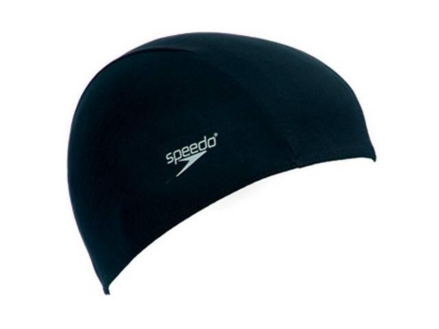 бу Шапочка для плавания Speedo Polyester Cap Junior (8-710110000) Черный в Полтаве