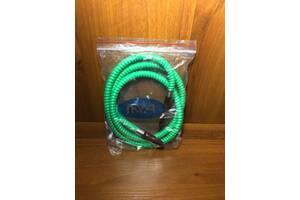 Шланг для кальяну MYA green кальянная трубка зелений