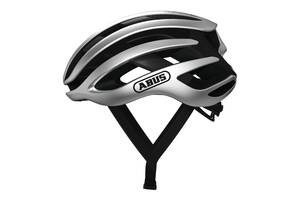 Шолом велосипедний ABUS AIRBREAKER M 52-58 Gleam Silver (817410)