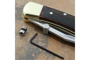 Шпенёк& nbsp; для однорукого відкривання ножа Buck 110, Opinel або іншого ножа