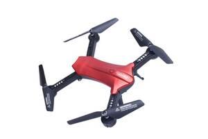 Складной квадрокоптер с камерой HD 720P и WIFI Lishitoys L6060W Red (gr_007355)