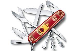 Складной нож Victorinox Нож Victorinox Huntsman Year of the Pig 1.3714.E8, красный
