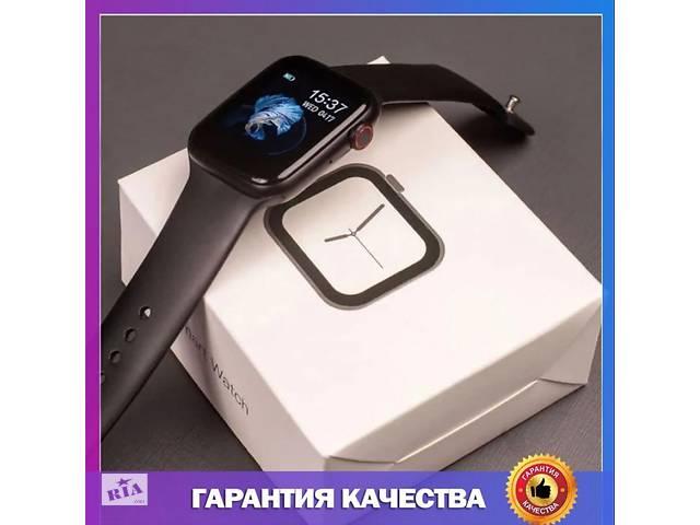 купить бу Смарт-часы IWO 8, черные в Мелитополе