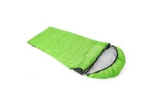 Спальный мешок КЕМПІНГ Peak 200R с капюшоном Green (4823082715008)