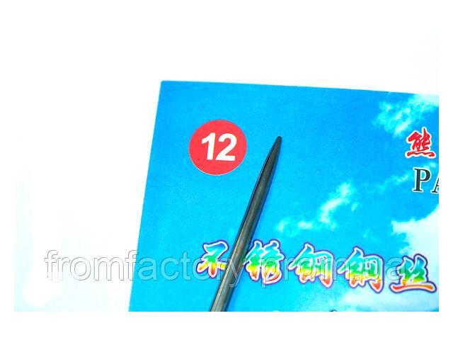 Спицы металлические круговые на тросе 80см (в комплекте с измерителем спиц + иголка для сливания вязаных- объявление о продаже  в Харькове