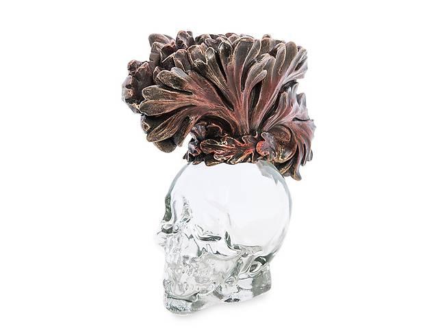 бу Статуэтка-флакон  Veronese Стеклянный череп 13 см 1906351 в Львові