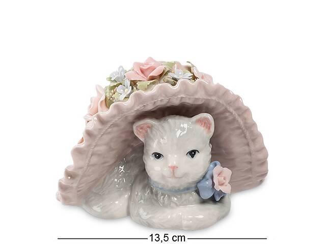 продам Статуэтка фарфоровая музыкальная Pavone Кошка в шляпе 13.5 см 1101306 бу в Одессе