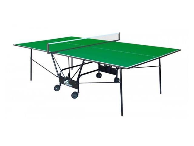 Стол теннисный GSI Sport Compact Light Зеленый