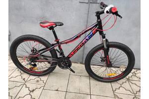 """Стильный подростковый велосипед 24"""" PEGAS KEY DD 2021"""