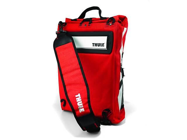 купить бу Сумка для велосипеда Thule Pack´n Pedal Commuter Pannier TH100011, красный в Киеве