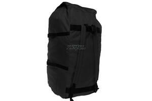 Сумка-рюкзак Атлант лодочная, Рипстоп с пропиткой 120л Чёрная