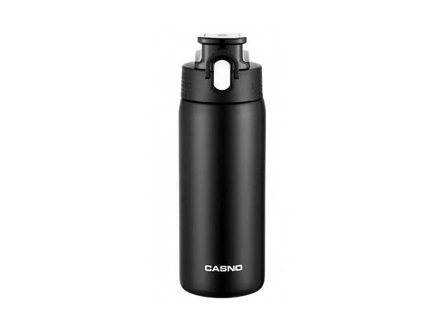 купить бу Термокружка CASNO 450 мл KXN-6065 Black (KXN-6065_Black) в Харкові