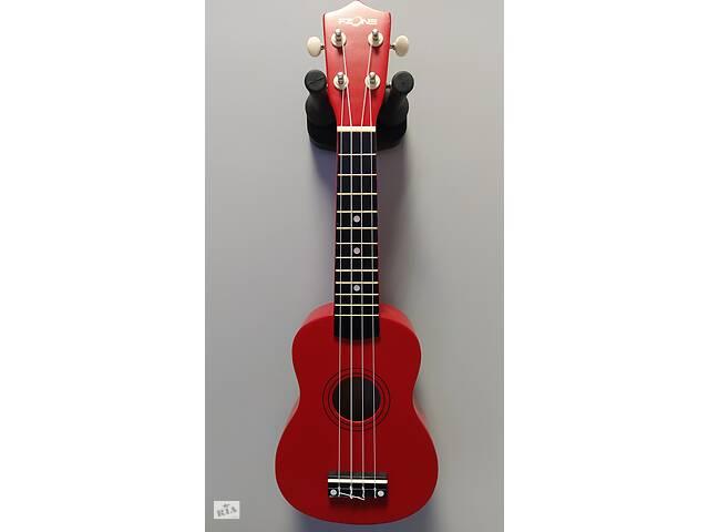 купить бу Укулеле сопрано FZONE красная + запасные струны в подарок! в Кременчуге