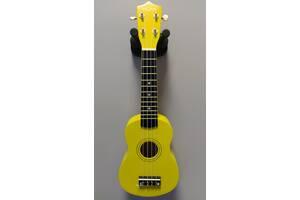 Укулеле сопрано FZONE желтая + запасные струны в подарок!