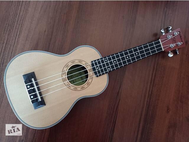 Укулеле сопрано Parksons гавайская гитара+чехол+медиатор- объявление о продаже  в Хмельницком