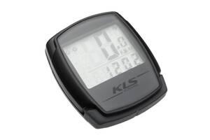 Велокомп'ютер дротовий KLS Digit 9 Grey (8585019344250)