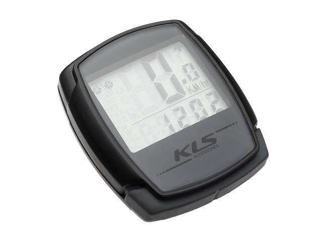 купить бу Велокомп'ютер дротовий KLS Digit 9 Grey (8585019344250) в Киеве