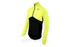Велокуртка-дождевик PEARL iZUMi Select Barrier WxB (Жёлто-чёрный, L)