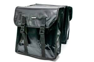 Велосумка штаны, на багажник 31x14x33cm черный BRAVVOS F-089, водоотталк. материал