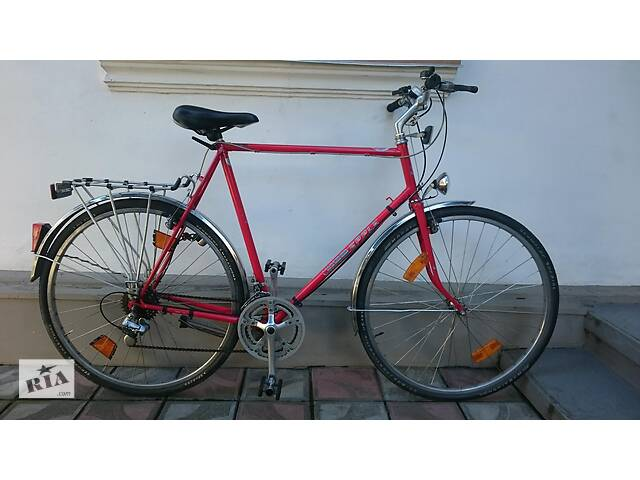 """Велосипед 28"""" на високий зріст хром молібден Німеччина Pletscher Esgе (у резерві)- объявление о продаже  в Бучачі"""