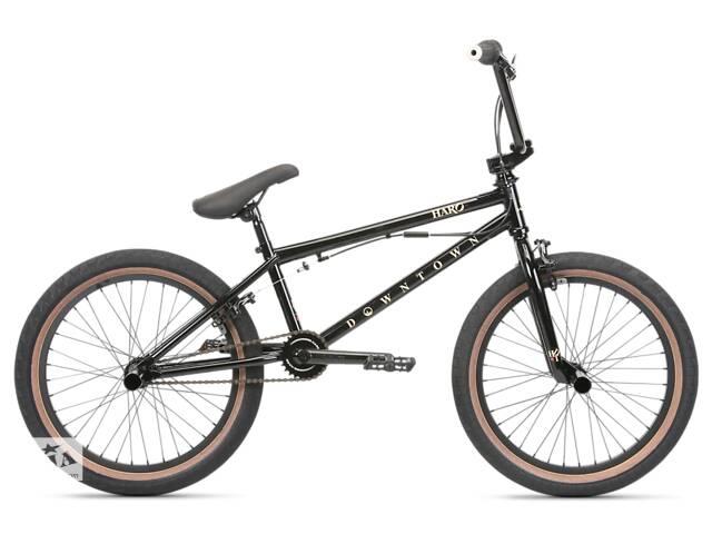 Велосипед BMX Haro 2020 Downtown DLX 19.5/20.5 Gloss Black- объявление о продаже  в Одессе