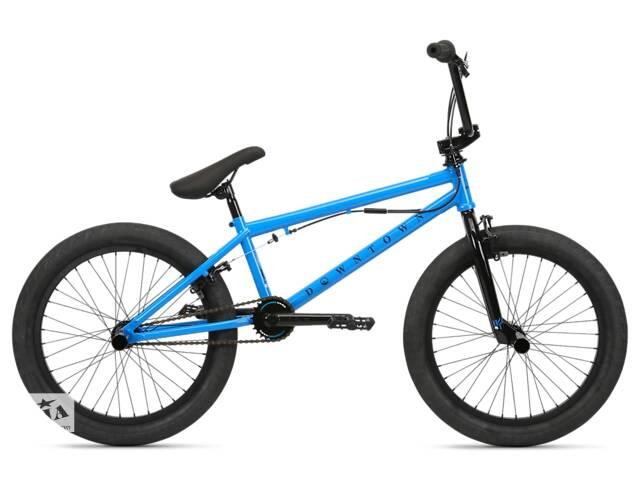 купить бу Велосипед BMX Haro 2020 Downtown DLX 19.5/20.5 Vivid Blue в Одессе