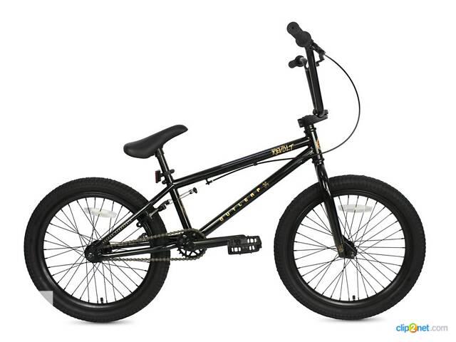 Велосипед BMX REVOLT 2021 black- объявление о продаже  в Киеве