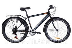 """Велосипед городской мужской 26"""" Discovery Prestige Man Ranger 2020, рама 18"""" черно-оранжевый"""