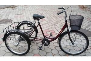 Велосипед триколісний вантажний