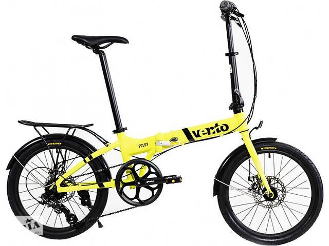 Велосипед Vento Foldy ADV 2020 Yellow Gloss- объявление о продаже  в Полтаве