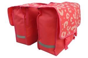 Велосипедная сумка, велоштаны 34 L Сrivit S061790 розовый