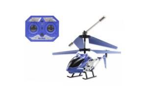 Вертолет на р/у King Blue аккумулятор пульт управления и запасной винт 33008 (BLUE-RT)